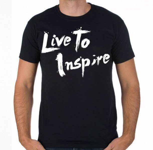 Live to Inspire Short-Sleeve Shirt